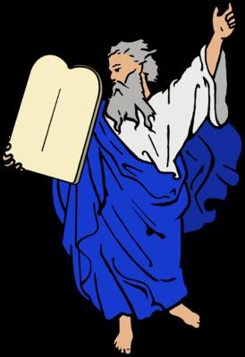 Image: Dore 10 Commandments.