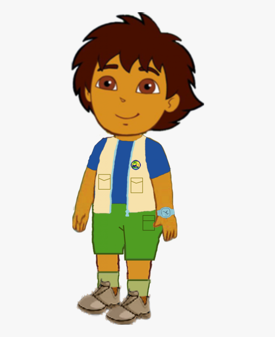 Transparent Dora And Diego Clipart.