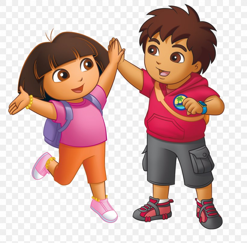 Diego Dora The Explorer Baby Jaguar Cartoon Clip Art, PNG.