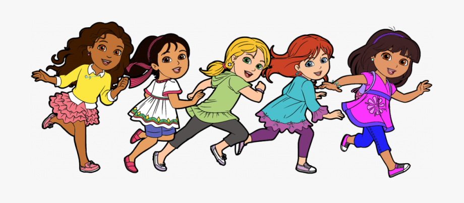 School Friends Clipart Dora And Friends Clipart Cartoon.