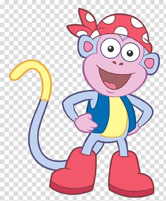 Dora Boots The Monkey! Desktop , dora transparent background.