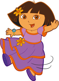 Dora the explorer clip art.