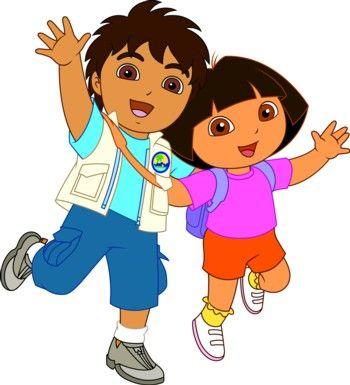 Dora Y Diego Caricaturas.