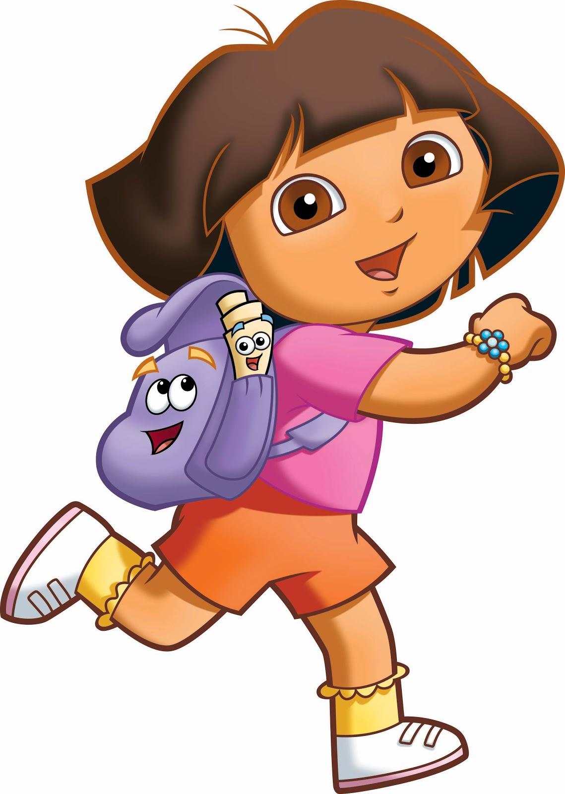 Dora Clip Art.