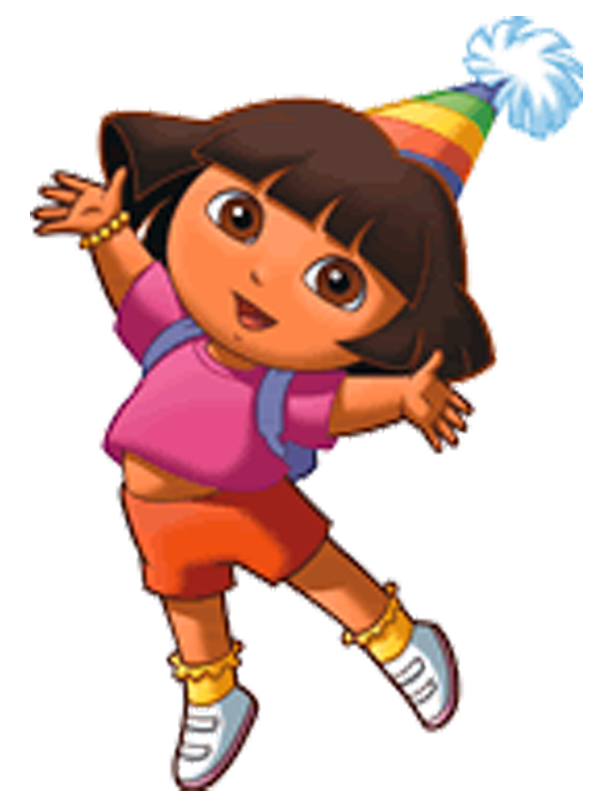 Dora The Explorer Birthday Png Vector, Clipart, PSD.