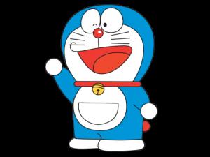 Doraemon cartoon clipart.
