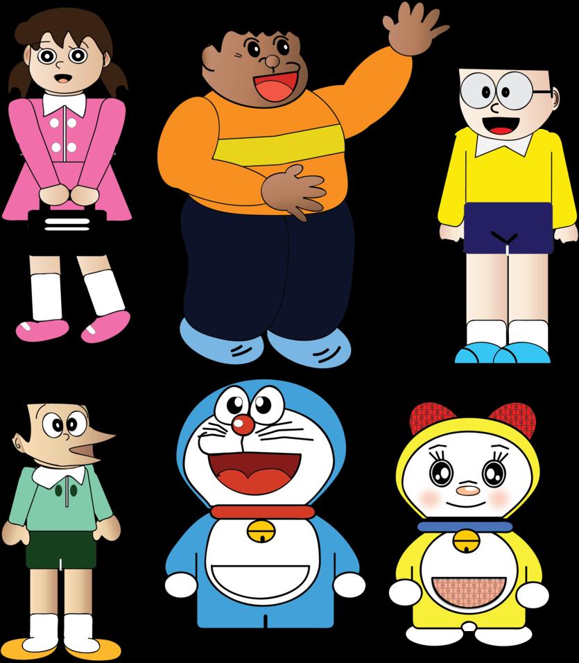 Doraemon Clip Art Free.
