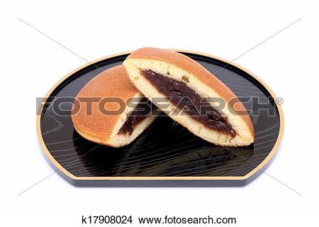 Stock Photo of Dorayaki, Japanese confectionery k17908024.