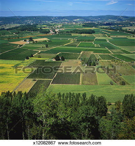 Picture of Rural Landscape, Dordogne, Aquitaine, France x12082867.