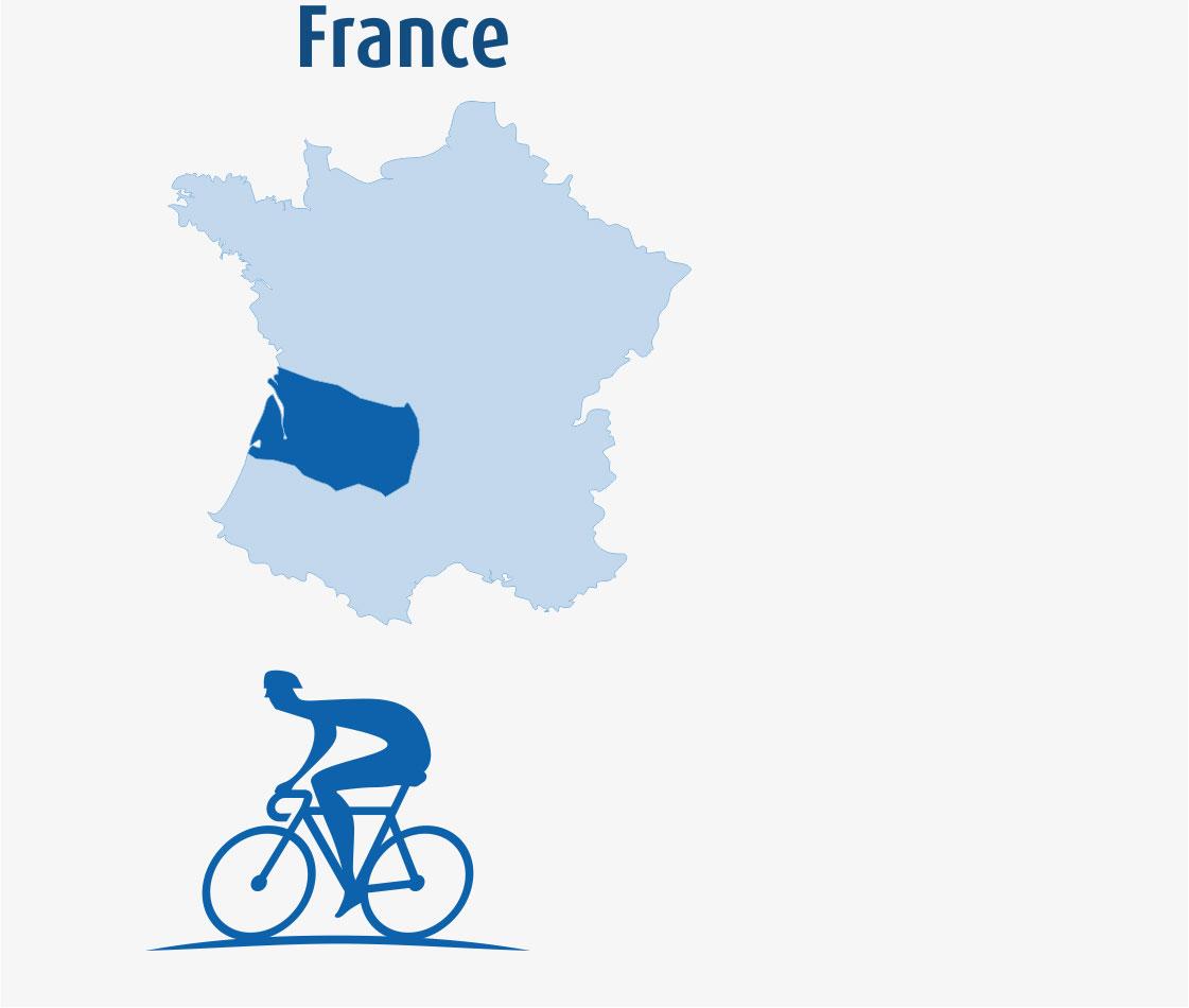 Dordogne Bike Tours.
