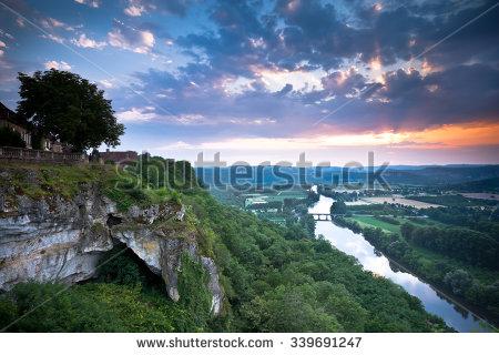 Dordogne Stock Photos, Royalty.
