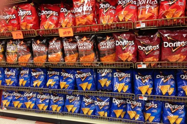 Doritos gets a new logo — again!.