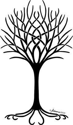 Dormant trees clipart #12