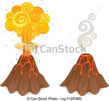 Volcano Illustrations and Clip Art. 3,531 Volcano royalty free.