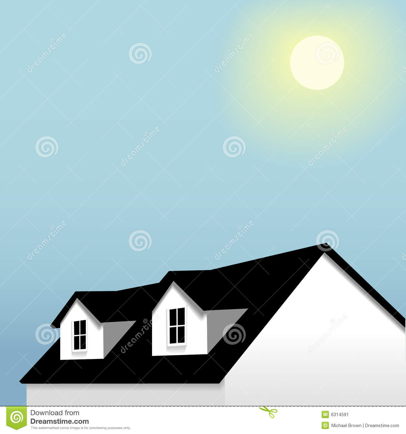 Dormer Stock Illustrations.