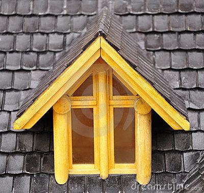 Dormer Window Stock Image.