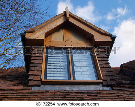 Stock Photo of dormer window k3172254.