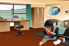 Dormitory Stock Illustrations.