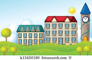 Student dormitory Clipart and Illustration. 13 student dormitory.