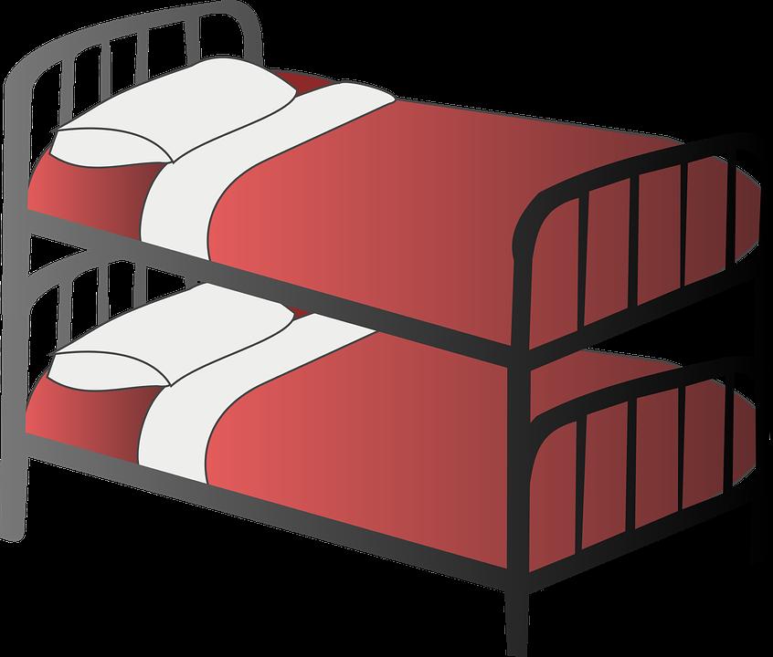 Free vector graphic: Bed, Bedroom, Bunk Bed, Dormitory.
