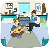 Dormitory Clip Art.
