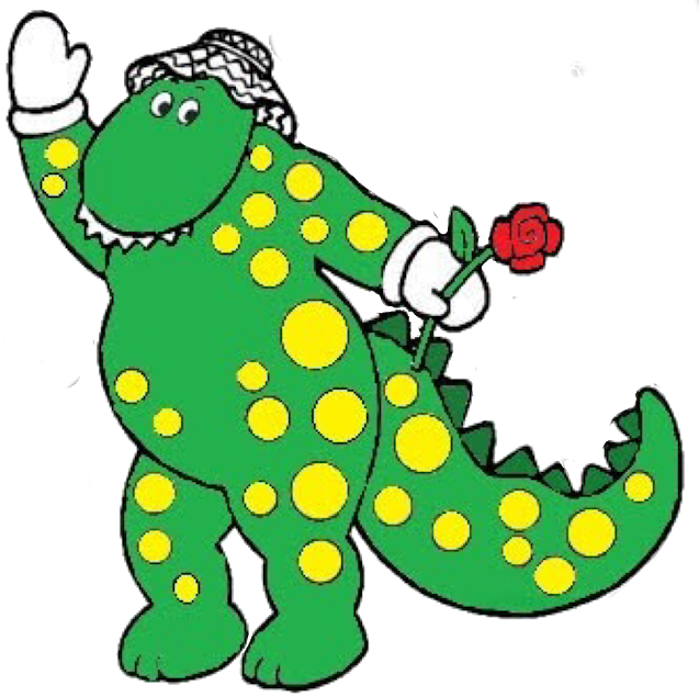 Cartoon Dorothy The Dinosaur.