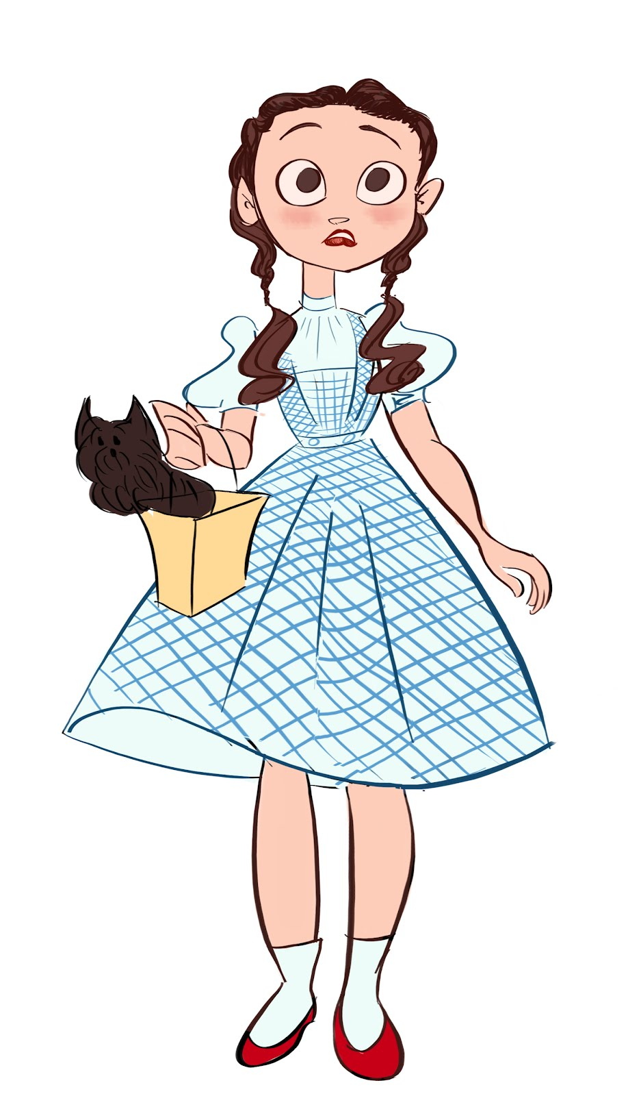 Dorothy wizard of oz clipart 4 » Clipart Station.