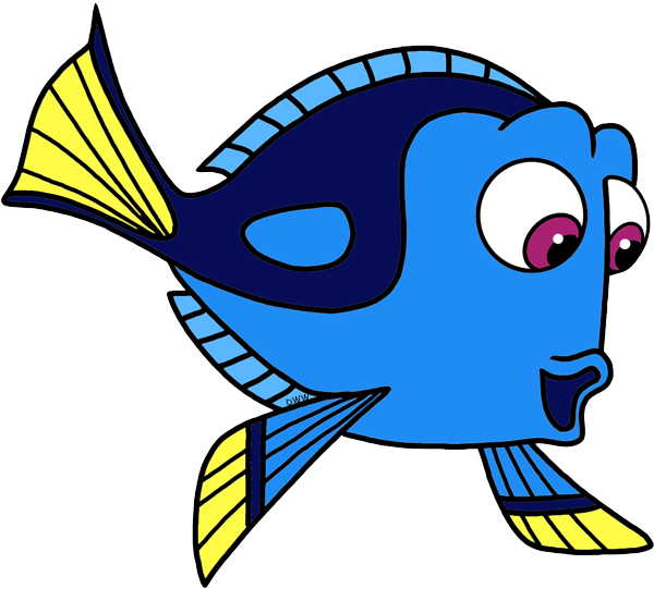 Finding Dory Clip Art Images.