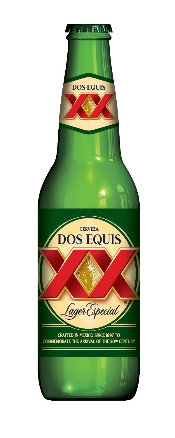 Dos Equis Lager! This is going in Mark and Mandy\'s Mexican.