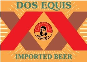 Dos Equis logo Clipart Picture Free Download.