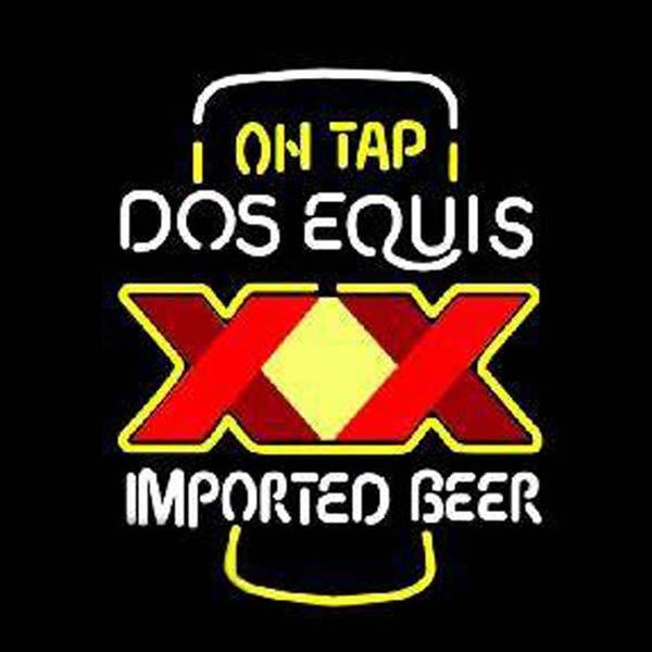 2019 Dos Equis Imported Beer Neon Sign Custom Handmade Real Glass Tube  Store Bar KTV Motel Advertise Display Neon Signs Printed XX 24X24 From.