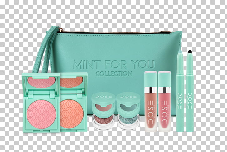 Cosmetics Dose of Colors Brand User, mint color PNG clipart.