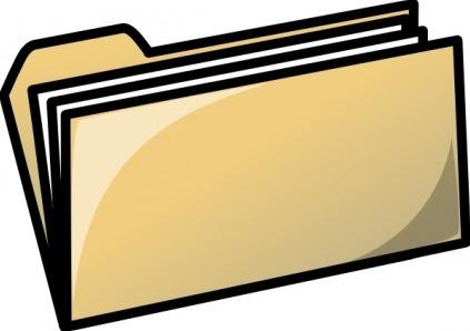 Dossier Clipart.