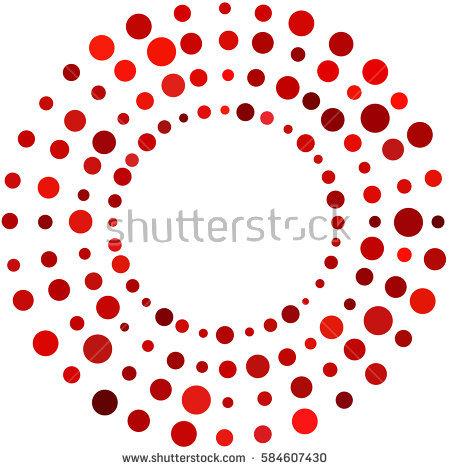 Dots Circle Stock Images, Royalty.