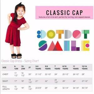 Dot Dot Smile Cap Sleeve Dress NWT.