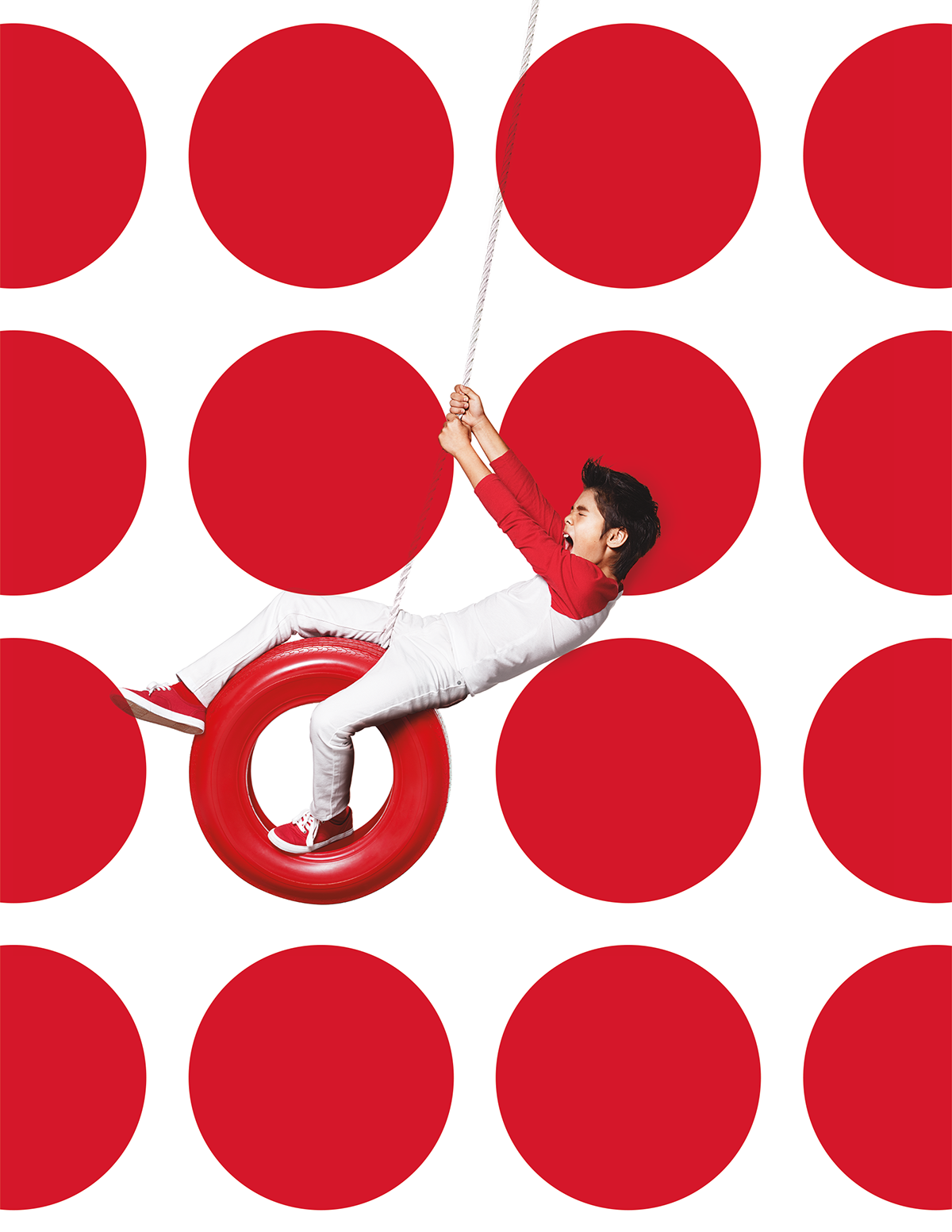 Target's logo is elegantly simple. One dot. One ring. We created a.