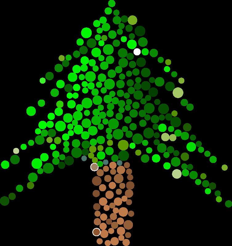 Free Clipart: Dot Tree.