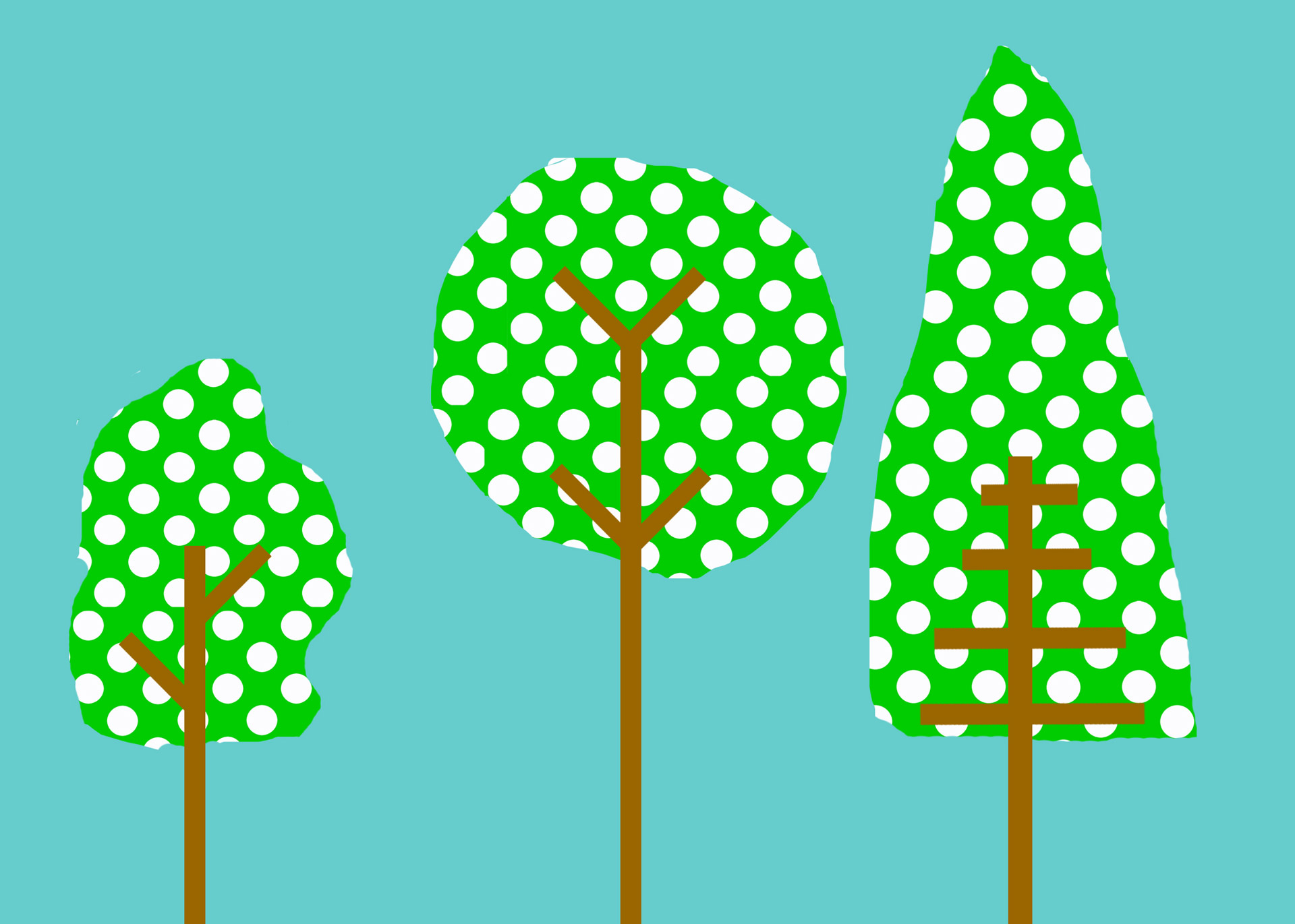 Green,blue,polka dot,clip,art.