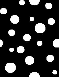 White Polka Dots Clip Art at Clker.com.