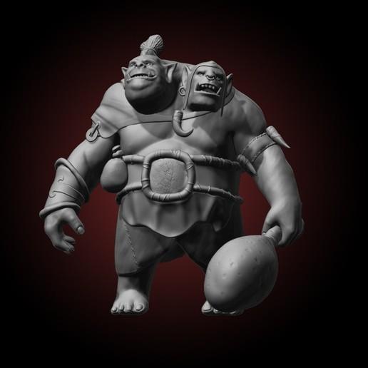 Dota 2 Fanart Ogre Magi.