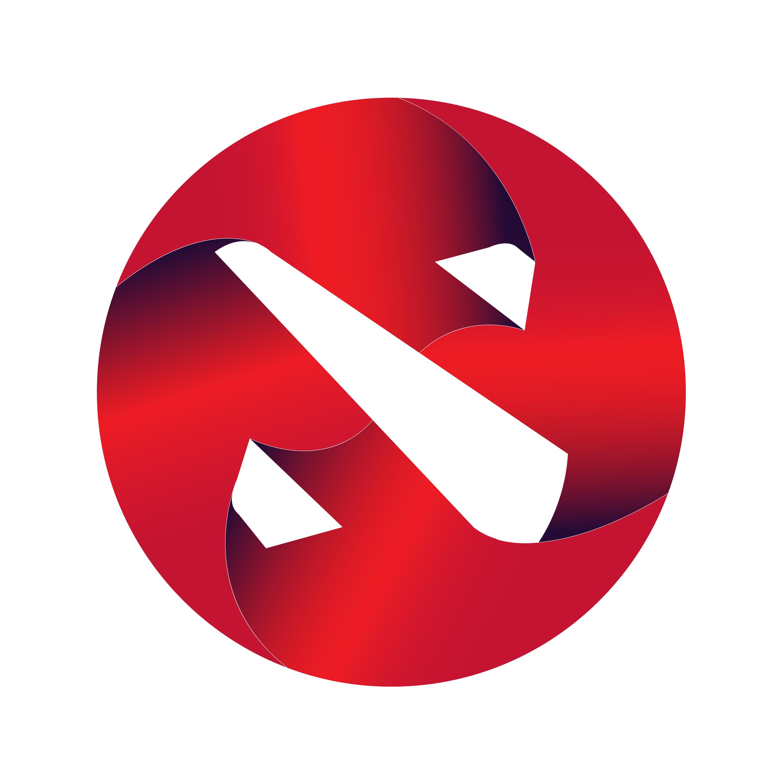 Just another Dota logo : DotA2.