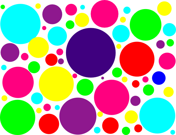 Small Line Of Dots Clipart.