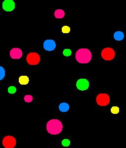 Clip Art Small Dots Clipart.