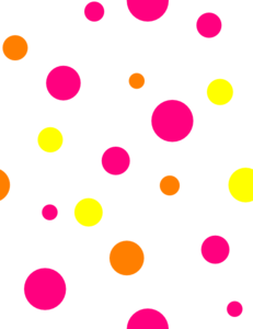 Polka Dot Circle Clipart.