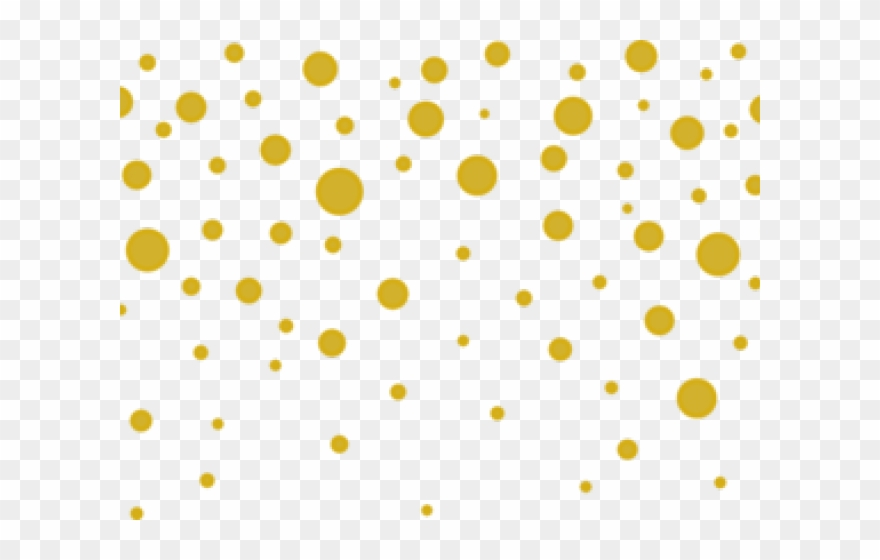 Dots Clipart Gold.