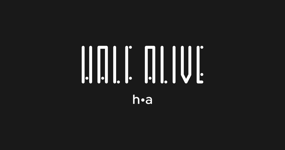 Half Alive Lines And Dots Logo by usernate.