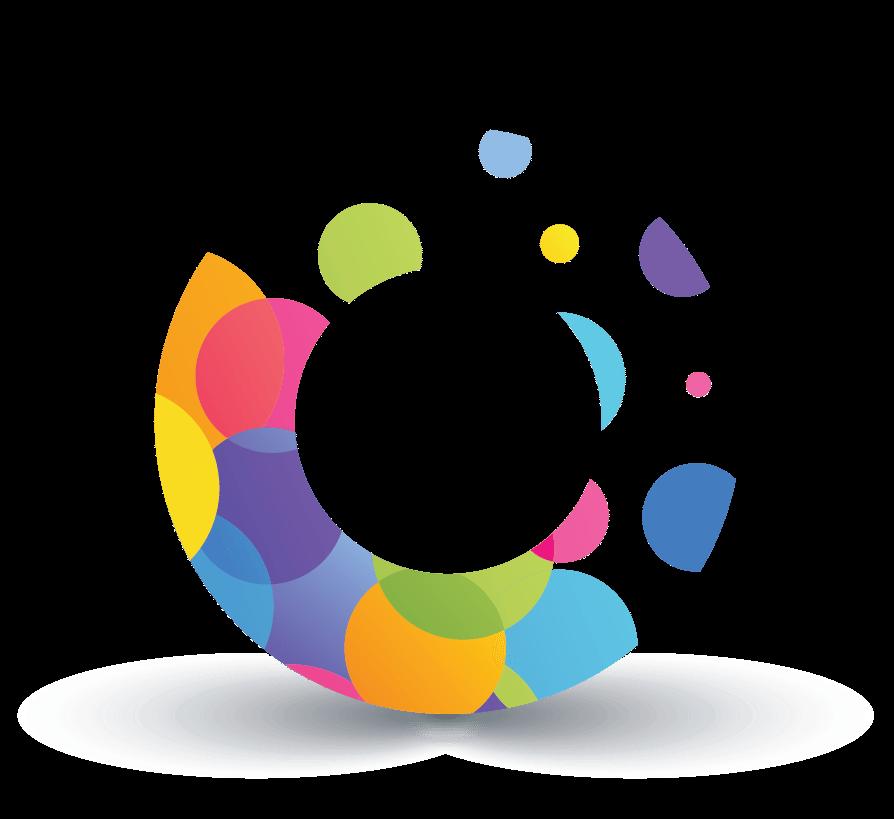 Design Free Logo: Art Dots Online Logo Template.