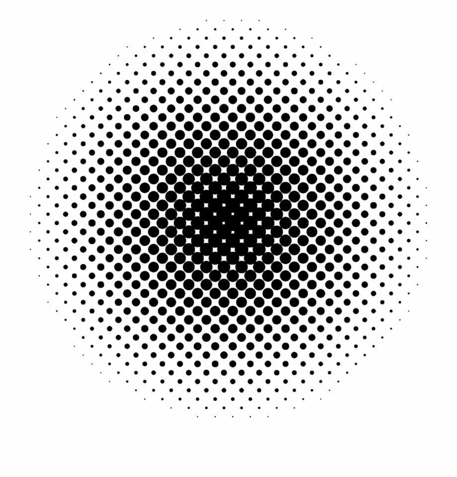 Halftone Pattern Dot Modern Png Image.