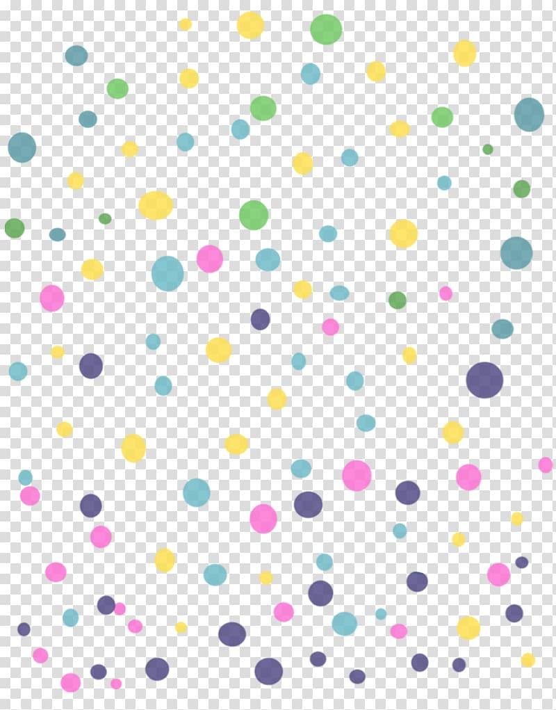 PicsArt Studio Sticker Polka dot Font, colorful dots.