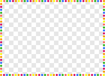 Dotted Border cutout PNG & clipart images.
